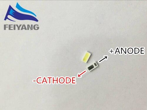 1000pcs AOT <font><b>LED</b></font> Backlight Middle Power <font><b>LED</b></font> 0.5W 3V <font><b>4020</b></font> 48LM Cool white LCD Backlight for TV TV Application 4020C-W3C4