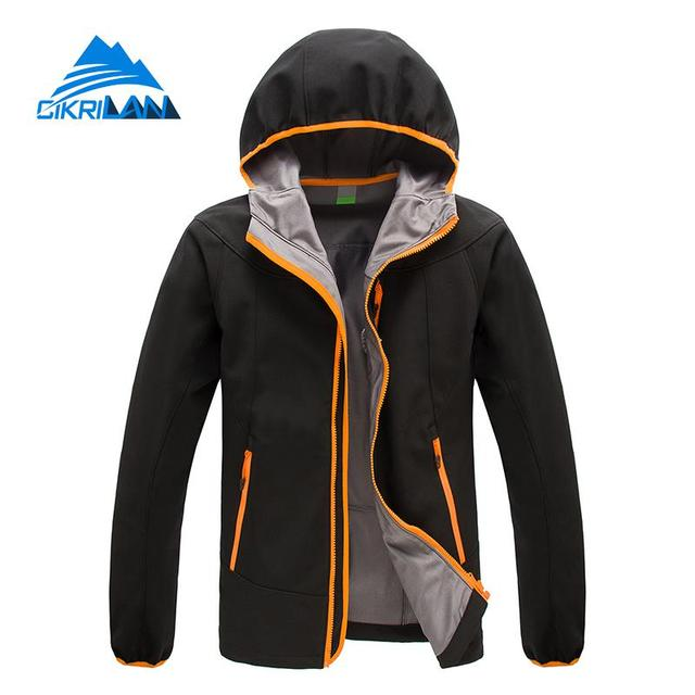 1e28b310b New Mens Spring Softshell Jaqueta Masculina Hiking Camping Trekking Hooded  Outdoor Jacket Men Water Resistant Windstopper