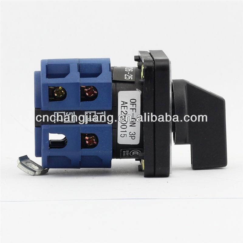 Поворотный переключатель lw26-25А 3 выкл.-вкл. полюс