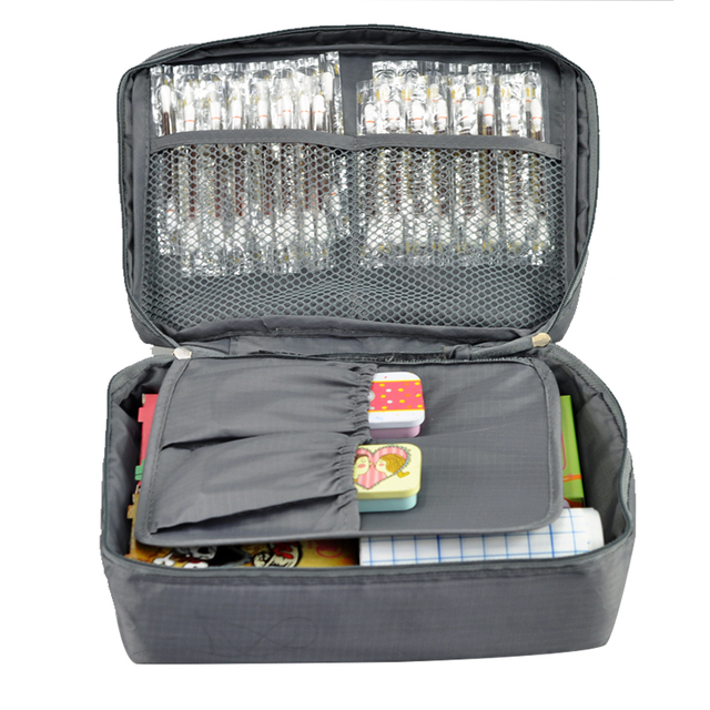dc1e8fbd64ba Free Shipping Grey Outdoor Travel First Aid Kit Bag Home Small Medical Box  Emergency Survival kit