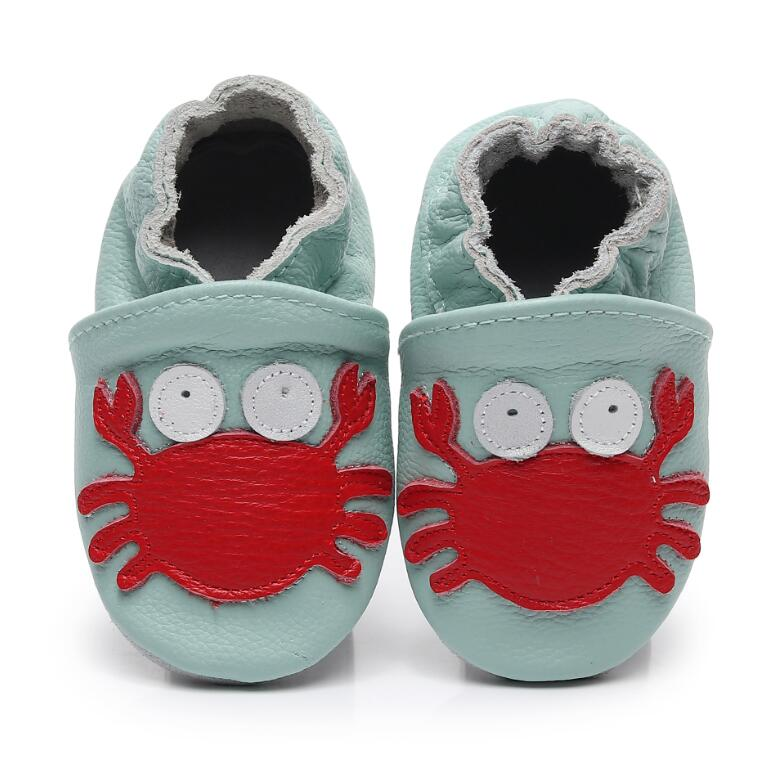Genuine Leather Animal Style Baby Moccasins Soft Sole Newborn Baby Girls Boys Shoes Nonslip Infant Indoor Shoes Hot Sell