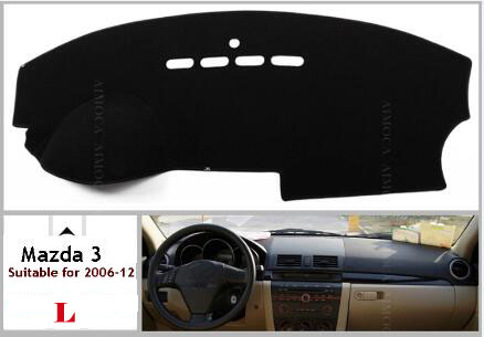 Car dashboard Avoid light pad Instrument platform desk cover Mats Carpets Auto font b accessories b