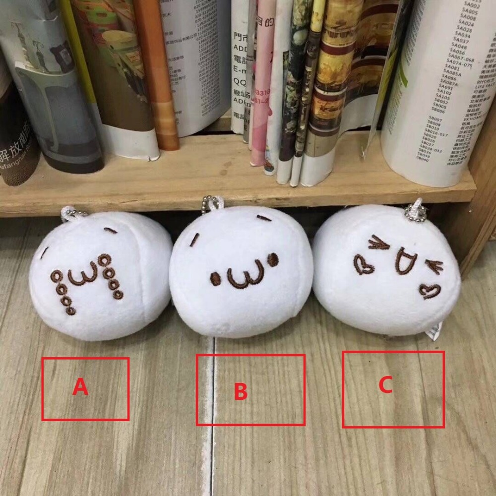 Creative Super Cute Face Text Shantou Expression Mobile Phone Backpack Hanging Pendant Super pinch mobile phone chain