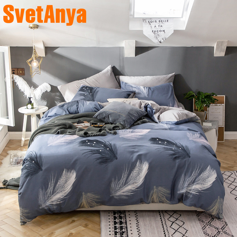 Bedding Sets Svetanya Cotton Bedding Set Single Double Size Bedlinen Home Textile