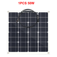 Free Shipping Flexible Solar Panel 50W 100W 150w 200w Monocrystalline Silicon Solar Panel China 18V Size Solar battery China