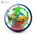 Красочные высокое качество 100 Шагов Головоломки Малый Обучающие Магия Интеллект бал Мраморный Игры perplexus магнитных шариков для детей