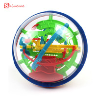 Colorful High Quality 100 Steps Puzzle Small Educational Magic Intellect Ball Marble Game Perplexus Magnetic Balls