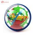 Alta calidad colorida 100 Pasos Rompecabezas Educativo Pequeños Magia Intelecto bola de Mármol Juego perplexus bolas magnéticas para niños
