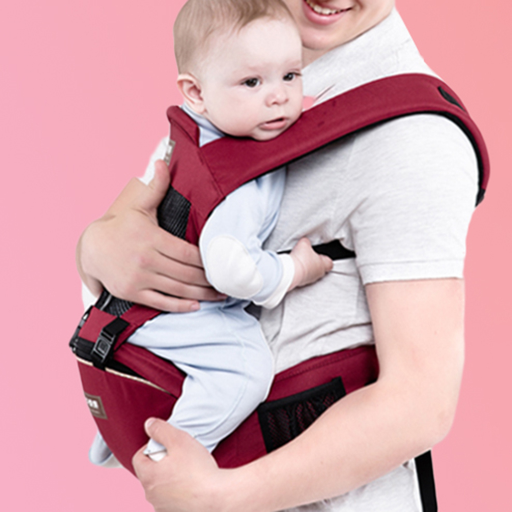 Breathable Ergonomic carrier backpack Portable infant baby carrier heaps with sucks pad baby sling carrier wrap for Newborn breathable baby carrier backpack portable infant newborn carrier kangaroo hipseat heaps sling carrier wrap