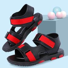 SKHEK Boys Sandal 2019 Summer New PVC Children Sandals Soft Bottom Baby Casual Wrapped Beach Shoes 10 Year Old Size
