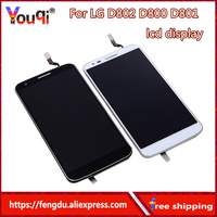 Youqi 5 2 LCD For LG G2 D802 Display Touch Screen Digitizer Assembly Display For LG