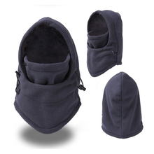 Thermal Fleece Balaclava Hat Hood Ski Bike Wind Stopper Face Mask Men Neck Warmer Winter Fleece Motorcycle Neck Helmet Cap цена