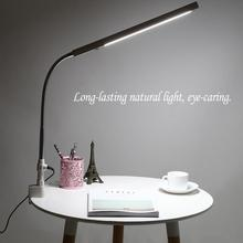 Led Nail Art Desk Lamp 360 Degree Rotation Ultra Slim Metal Arm Eye Caring