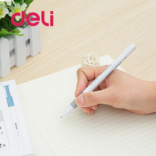 Deli 1pcs Gel Pen 0.5mm Business Black Ink Pen Maker carbon Pen School Office student Exam Writing Stationery Supply