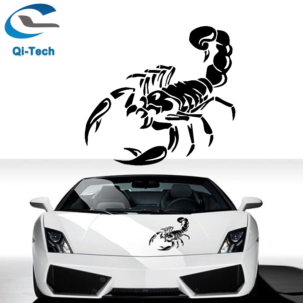 Cute car sticker designs - 3d Car Stickers And Decals Cute Scorpion Car Styling Stickers 30cm Funny Car Stickers For Bmw