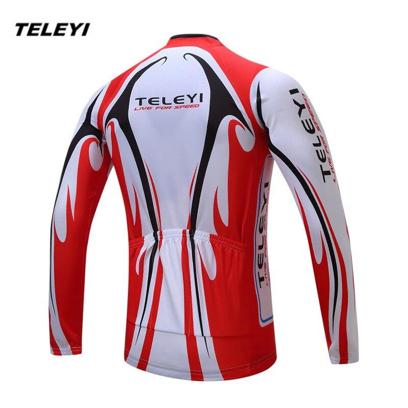 90c5d859d903 2019 rojo blanco bicicleta jersey largo hombres Ciclismo Ropa primavera  otoño masculino MTB Ropa Ciclismo Maillot camisetas de manga larga en  Camisetas de ...