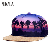 Brand NUZADA Snapback 4 Colors Summer Autumn Baseball Caps For Men Women Couple Cork Hats Hip