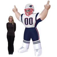 Бесплатная доставка! Customiezd NFL San Diego Зарядные устройства надувные стоя Бубба Футбол плеер
