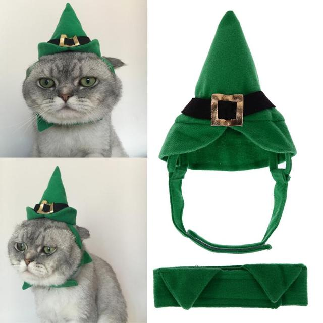 Traje de mascota Halloween Navidad perrito perro gatos sombrero ...