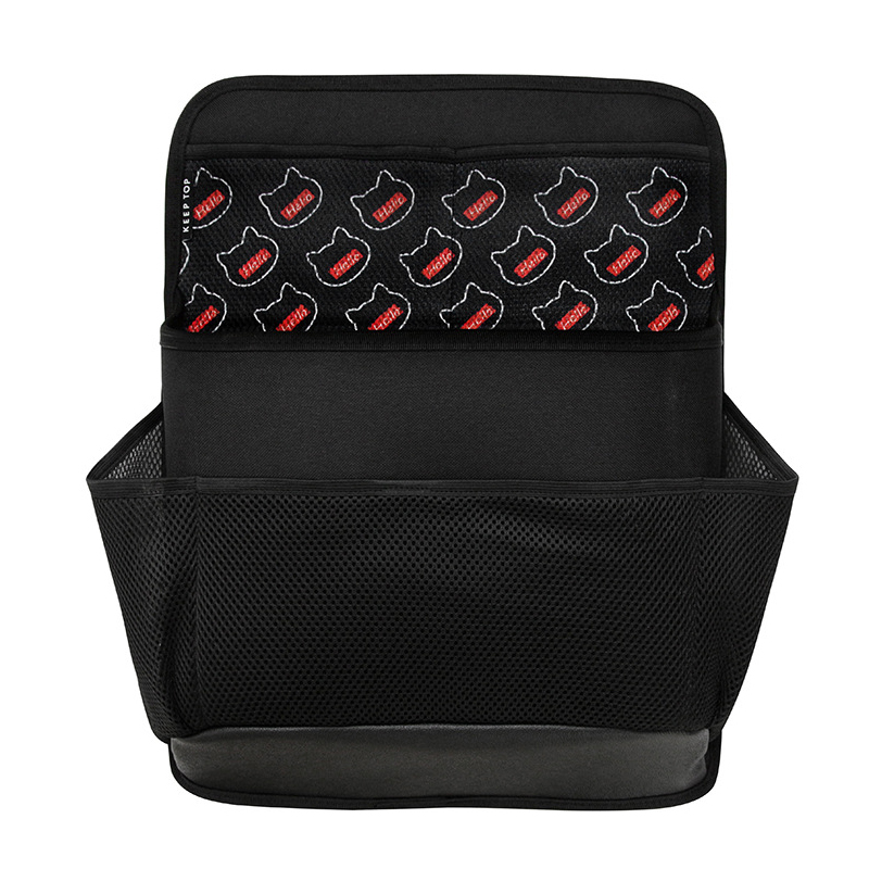 Image 2 - New car organizer Car trunk storage bag net bag thickening storage box car seat organizer waterproof material free shipping-in Stowing Tidying from Automobiles & Motorcycles