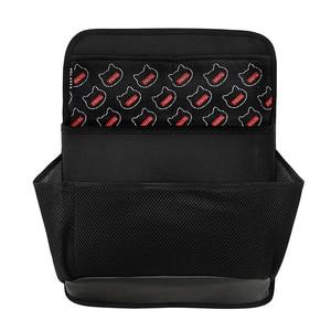 Image 2 - New car organizer Car trunk storage bag net bag thickening storage box car seat organizer waterproof material free shipping