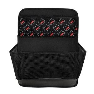 Image 2 - Novo organizador carro saco de armazenamento mala Do Carro saco de rede espessamento material de caixa de armazenamento organizador do assento de carro à prova d água frete grátis