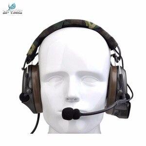Image 4 - Z טקטי Airsoft Comtac Z054 zComtac ICH אוזניות סגנון טקטי אוזניות OD קסדת רעש ביטול אוזניות