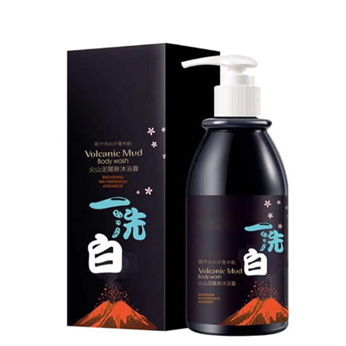 Natural 1pcs Volcanic Mud Shower Gel Whitening Moisturizing  Body Lotion Skin  Care Deep Clean SkinNatural 1pcs Volcanic Mud Shower Gel Whitening Moisturizing  Body Lotion Skin  Care Deep Clean Skin