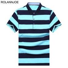 Bi-color Wide Striped Pique Polo Shirts Men Clothes 2018 Short Sleeve Polo Men's Casual Regular fit Cotton Polos Para Hombre