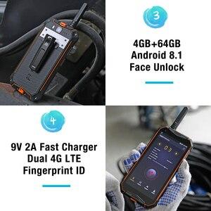 Image 4 - Ulefone鎧 3t IP68 防水携帯電話アンドロイド 8.1 5.7 インチ 21MPエリオP23 オクタコアnfc 10300 トランシーバースマートフォン