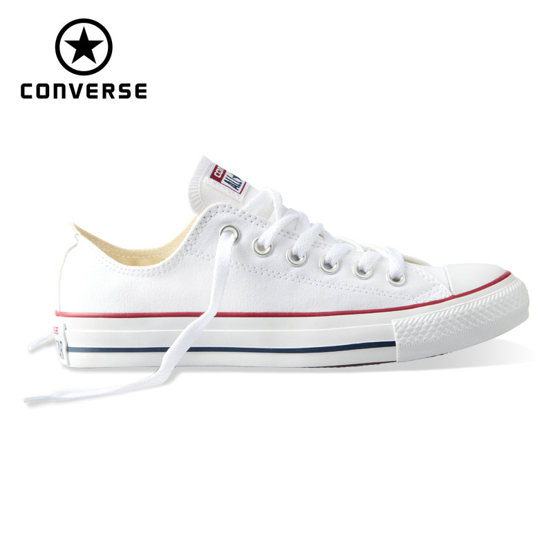 US $34.64 43% OFF Converse Men and Women Low Top Skateboarding Shoes Outdoor Casual Classic Canvas Unisex Anti Slippery Sneakers Breathable 1Z635 in