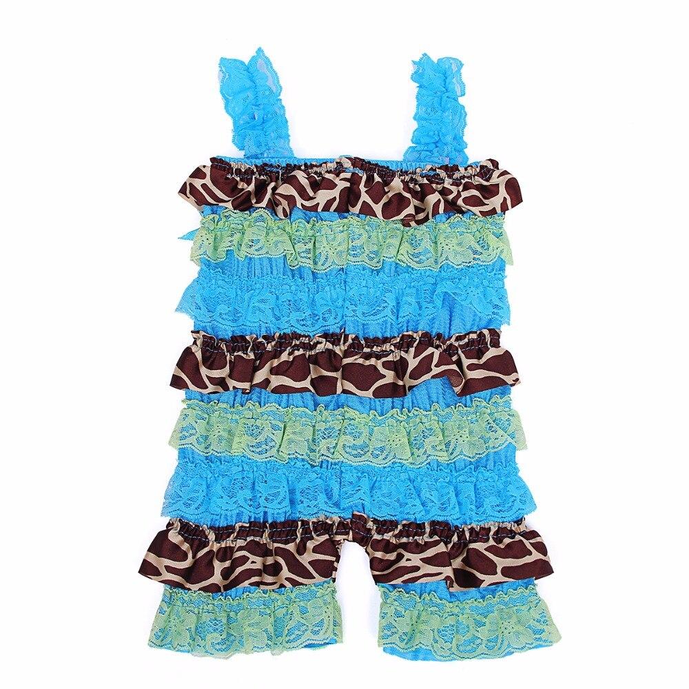 Baba lányok csipke romper szatén fodros kisgyermek csecsemő jumpsuit baba leopárd dekoráció torta Smash outfit karácsonyi baba babakocsi
