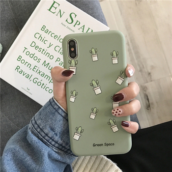 Phone Case For iPhone 11 6 6s 7 8 Plus X XR XS 11Pro Max Cute Cartoon Letter Deer Smiley Face Soft TPU For iPhone Cover 2