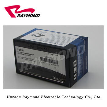 Original Datacard 535000-003 YMCKT Color Ribbon 500 Prints for CP40 CP60 CP80 Plus CD800 & CD800Plus ID card printers