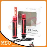 7/8'' 2MM CNC Motorcycle Handle Bar CAPS Handlebar Grips For yamaha R1 CBR 1000RR