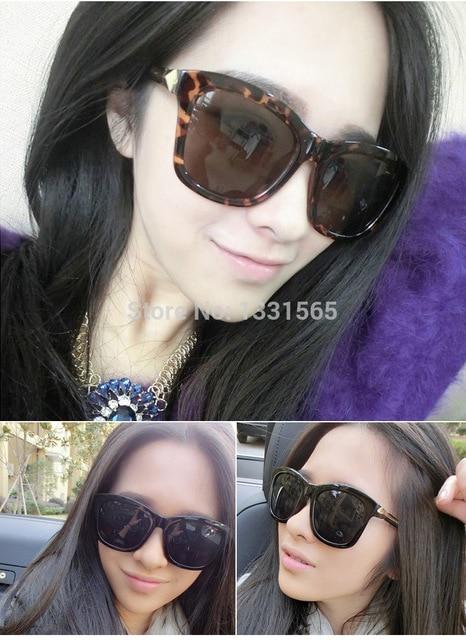 a94f78967 10Pcs 2015 Korea star style New Women Brand Designer Sunglasses Fashion Sun glasses  Woman Classic Big