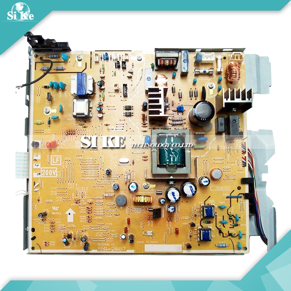 LaserJet  Engine Control Power Board For HP 3390 3392 HP3390 HP3392  RM1-2567 RM1-2566 Voltage Power Supply Board q5949x совместимый q5949 5949 5949x 949x 49x тонер картридж для laserjet 1320 3390 3392