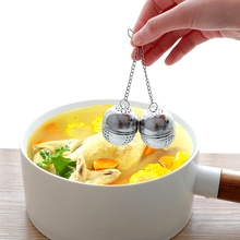 High Quality Thick Stainless Steel Seasoning Ball Tea Soup Ball Hot Pot Spice Leak Kitchen Spice Seasoning Tools 3pcs high quality multifunctional kitchen daily necessities seasoning mixing pot tableware stainless steel bowls