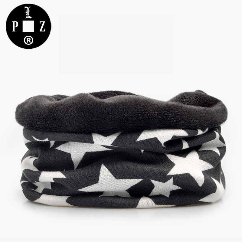 PLZ Brand Warm Fleece Winter Beanies For Ladies Fashion Star Print Skullies beanies for men Soft Women Scarf Cotton Rock Hat