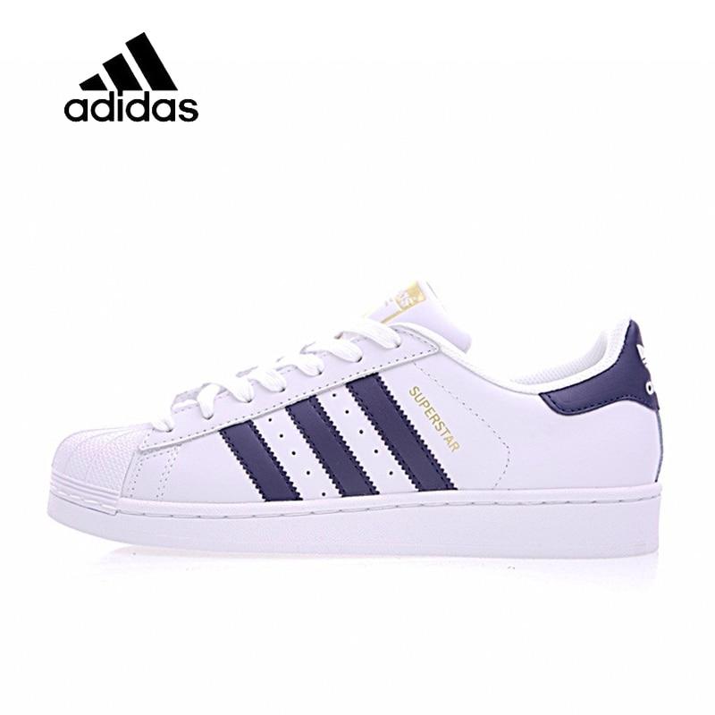 Original New Arrival Official Adidas Superstar Men's & Women's Comfortable Skateboarding Shoes Sport Outdoor Sneakers S81014 недорго, оригинальная цена
