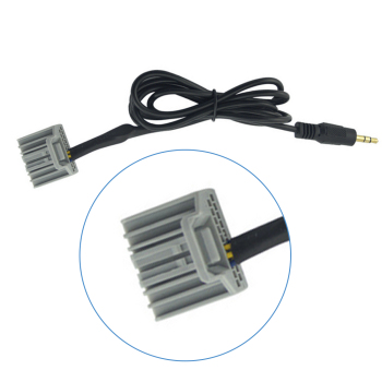 Dewtreetali Hot Sale 3.5mm Audio Car GPS Cable AUX Adapter For Honda Civic 2006-2013 CRV Accord Input Connector image