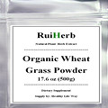 Organic Wheat Grass Pure Powder 17.6 oz (500g) free shipping