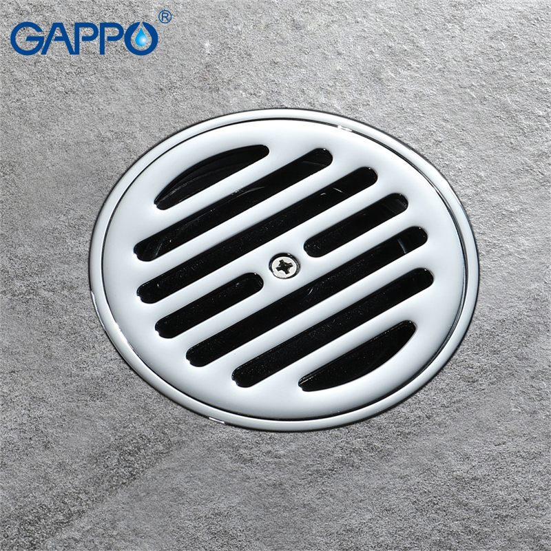 GAPPO drains anti-odor floor drain shower waste drainer bathroom floor drains cover bathroom drainers stopper