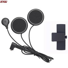 New Soft Earphone & Clip Accessories Suit for COLO Series Motorcycle Helmet Bluetooth Interphone Free Shipping!
