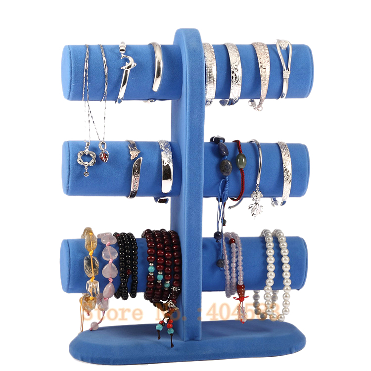 Special Design 3 Tier Blue Bracelet Bangle Holder /bangle