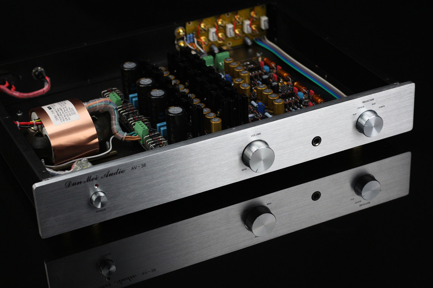 ZEROZONE Finished Hi end Class A Headphone amplifier preamp base on Krell KSA-5 L8-21