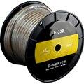 HiFi MPS E-330mk2  99.9997%OFC+ Silver Plated speaker wire Speaker audio cable for Hifi amplifier speaker 1 meter
