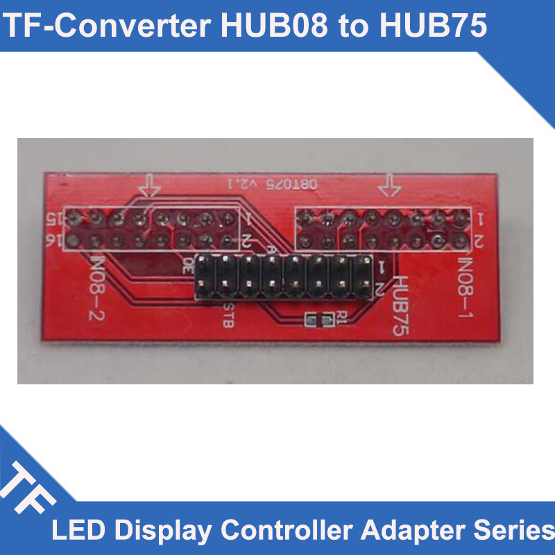 Longgreat TF Series TF-HUB75 LED Controller HUB Board Adapter HUB08 Convert Into HUB75