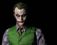 1 6 Scale Figure Doll Batman Joker In Purple Coat Heath Ledger Head Body Clothes 12
