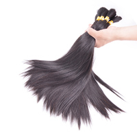 Wholesale 100 Raw Virgin Remy Human Hair Natural Color 12 To 30 Inches Human Braiding Hair